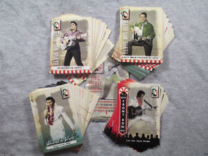 2007 ELVIS THE MUSIC TRADING CARD SET 81 CARDS W/WRAPPER