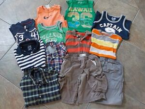 Summer boys lot, 12 pieces, size 7-8