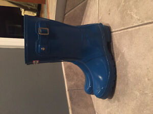 Womens Lightly Worn Hunter Boots Stratford Kitchener Area image 2