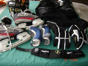 All you need for JUNIOR ..to play hockey...