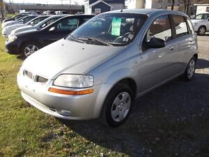 2005 Chevrolet Aveo !!! LOADED!!! MANUAL!! GOING CHEAP!!!