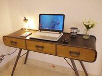 Retro Industrial Desk