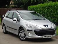 Peugeot 308 2010 SW 1.6HDi S***GENUINE LOW MILES + HPI CLEAR***