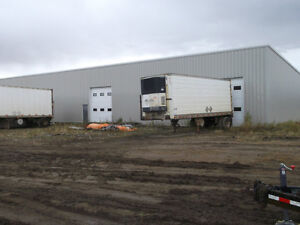 9000 sq f WAREHOUSE  and 4 ac available June 1st, 2016 for rent