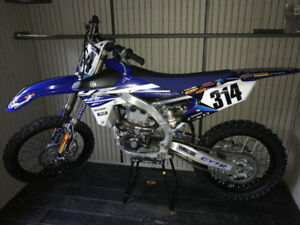 Basically new 2015 Yamaha YZ450F