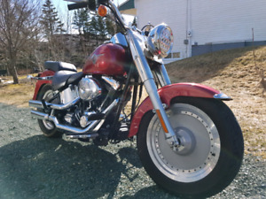 2004 Harley Fatboy FLSTFI