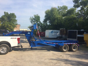 Trailer Roll-off for up to 20 yards bin