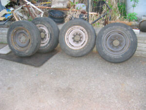 4 RIMS DE GMC SAFARI 2000