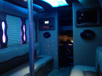 Bachelorette birthday wedding PROM any event PARTY BUS limousine
