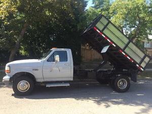 1996 Ford F-350 super duty... 3 ton dump