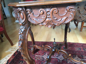 Stunning Octagonal Occasional Table