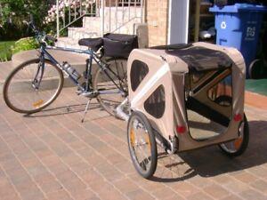 Transporteur pour petit animaux attacher sur  bicyclette
