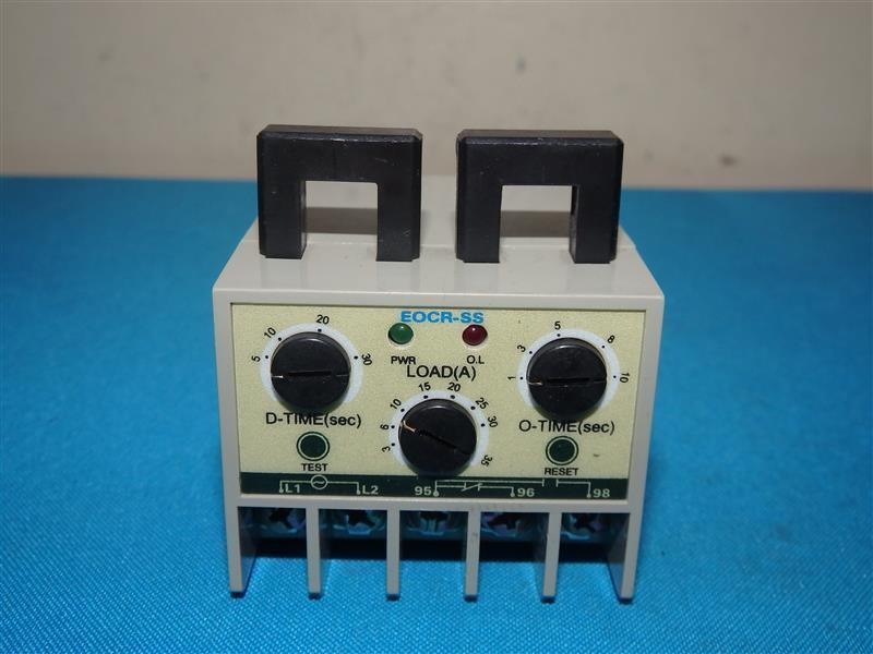 Samwha EOCR SS-30 N 220 Electronic Overload Relay