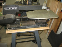 "EXCALIBUR EXII 19"" Scroll Saw"