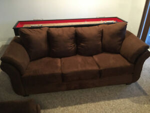 Collier 3 Seater Sofa - Chocolate Brown - 1 Year Old - Mint