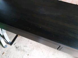 IKEA Black Desk