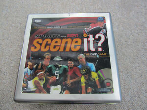 """Scene It?"" DVD Board Game - Sports Edition In Collector Tin"