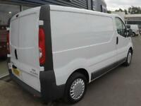 2014 Vauxhall VIVARO 2700 CDTI 89PS SWB VAN *F/S/H* Manual Medium Van
