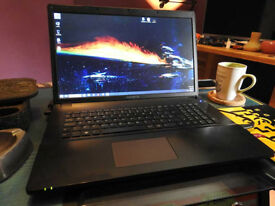 "Gigabyte P17F Gaming Laptop - Intel-i7 / 500-SSD / GTX-850M / 8gb-RAM / 17"" SCREEN"