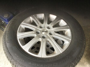 summer tires 215/65 R16 and rims