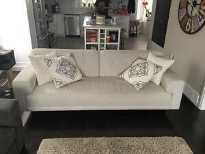 White EQ3 sofa