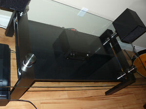 Tempered Glass top coffee table