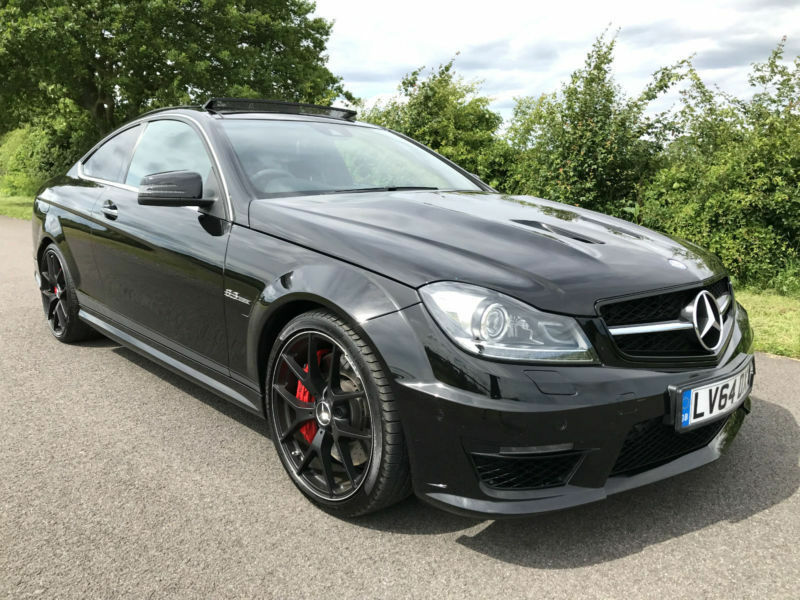 2014 64 mercedes benz c63 amg 6 3 amg edition 507 automatic black in solihull west midlands. Black Bedroom Furniture Sets. Home Design Ideas