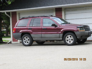 1999 Jeep Grand Cherokee Laredo SUV, Crossover