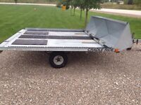 Double Wide Sled Trailer