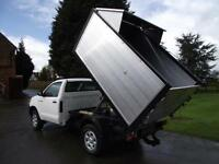 2010 10 TOYOTA HILUX HL2 D4D 144PS SINGLE CAB 4X4 PICKUP ARBORIST TIPPER # 91K