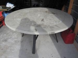 MOVING SALE! Homecrest Sandstone Patio Table