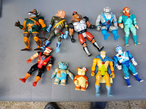 1985 Thunder Cats  10 figures