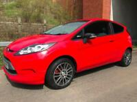 FORD FIESTA STYLE 80,000 GENUINE MILES 1.2 CHEAP INSURANCE IN RED NEW MOT