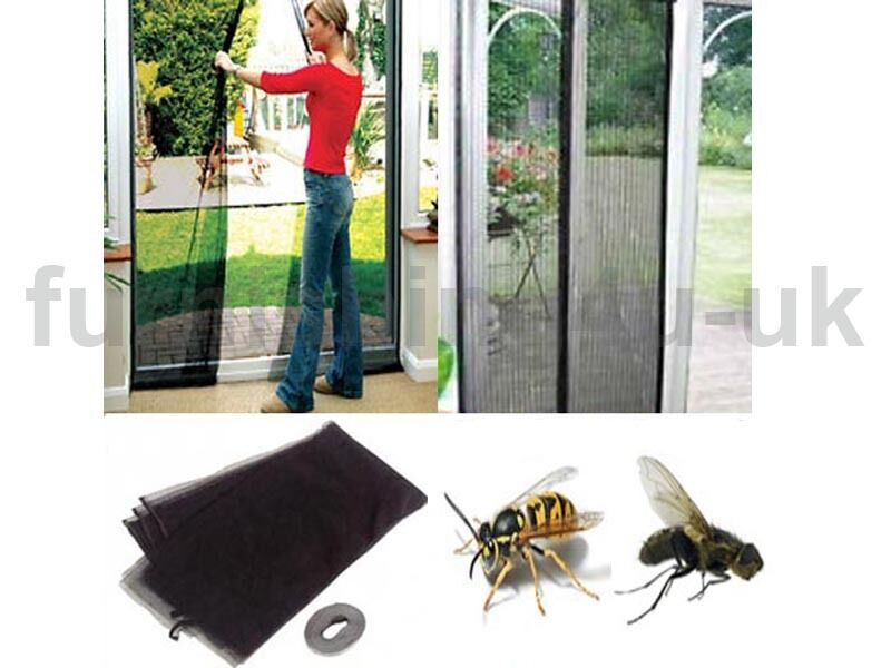 Screen Wasp Patio Door Draught Curtain