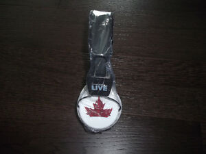 brand new molson canadian headphones, never removed from package
