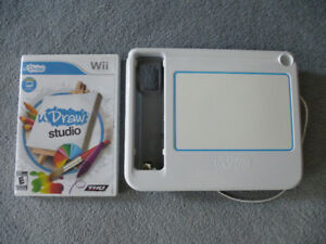 Wii Game - uDraw Studio with Game Tablet