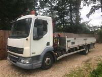 DAF TRUCKS LF**HIAB TRUCK**F50 FASSI**GREAT CONDITION**