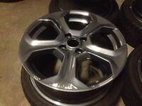 Alloy wheel refurbishment powder coating