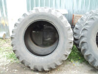 20.8 X 38 used Good Year tractor tires