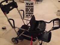 Joovy Caboose SIT-&STAND DOUBLE STROLLER FOR SALE