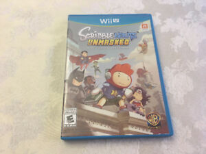 ScribbleNauts UnMasked for Wii U