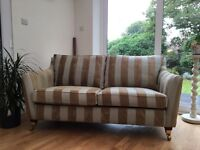 NASH 2 seater sofa settee feather & foam filled on Castors Del Avail. £149 Ono