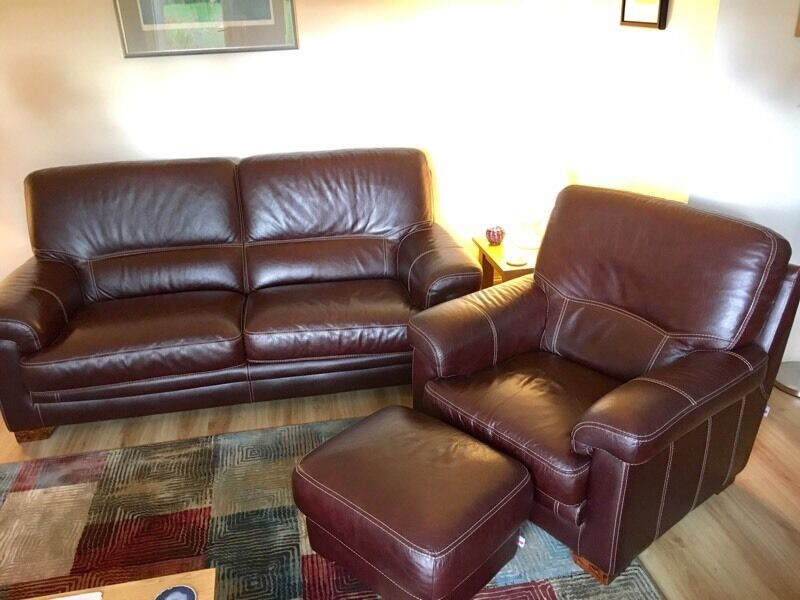 Bardi Italy Leather Suite 3 Seater Arm Chair And