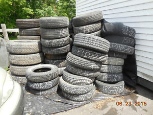 New and used tires, all sizes