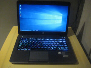 HP ultrabook with 8GB RAM and 10 (Ten) Core Processor