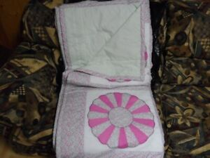 4 brand new homemade queen size blankets/Quilts