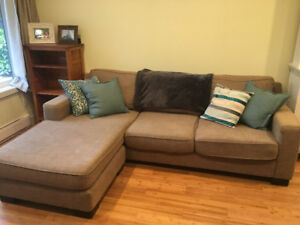 Light Brown Sectional