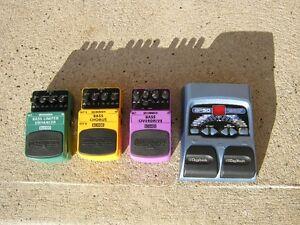 Bass Pedals Behringer BLE100,BCH100,BOD400, Digitech BP50