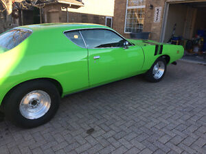 1971 charger 440 4 spd Windsor Region Ontario image 4