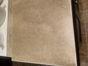 Glazed ceramic 12x12 tiles. 220 Sq feet.  REDUCED